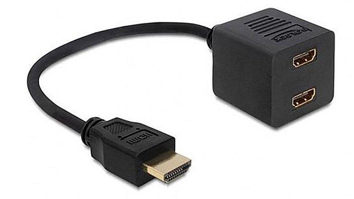 Разветвитель видеосигнала для подключения к компьютеру двух ТВ