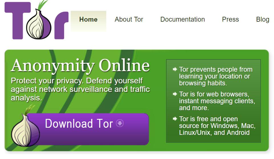 Нажимаем по кнопке «Download Tor»