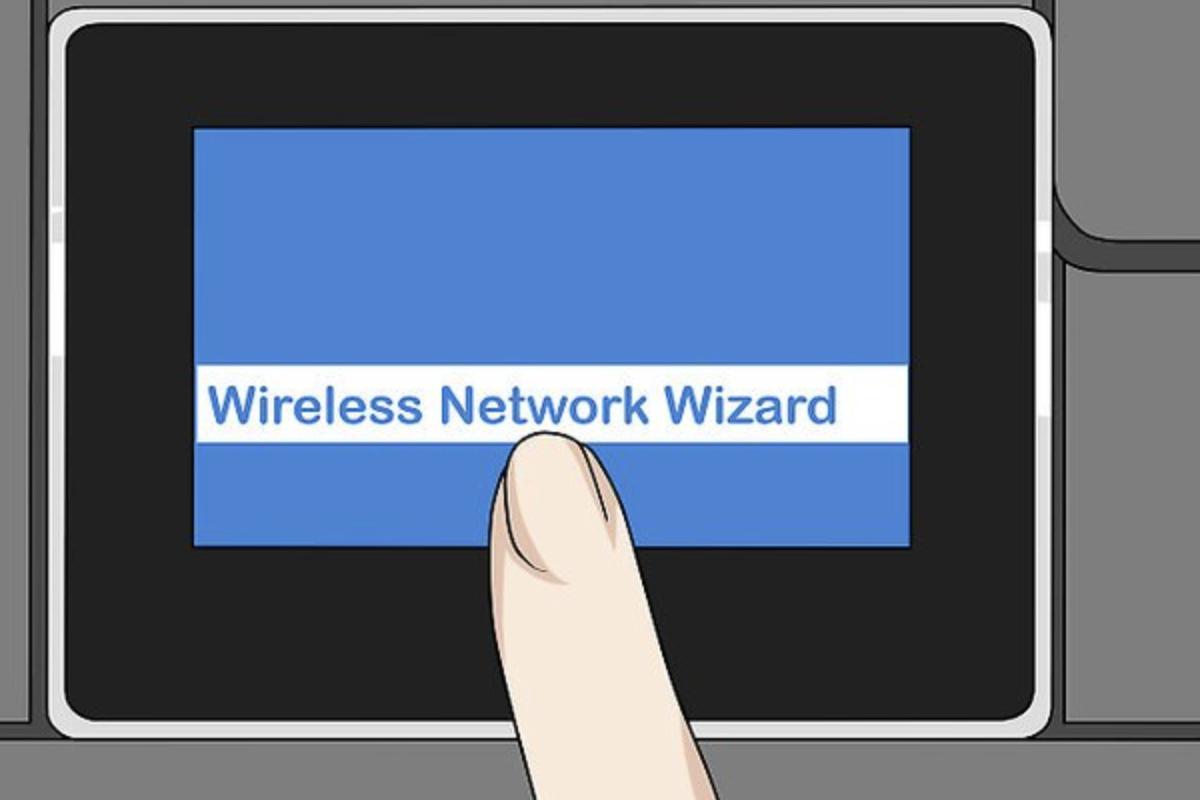 Нажимаем по опции «Wireless Network Wizard»