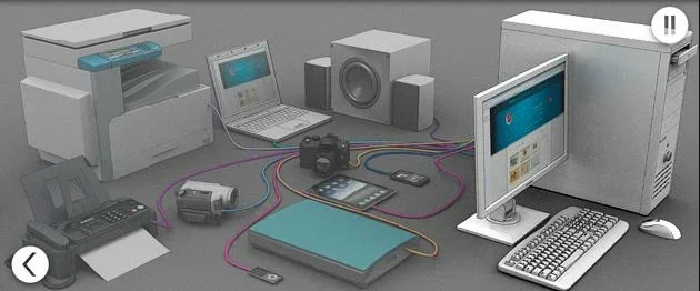 Отключаем от ПК все периферийные устройства, кроме указателя мышь и клавиатуры