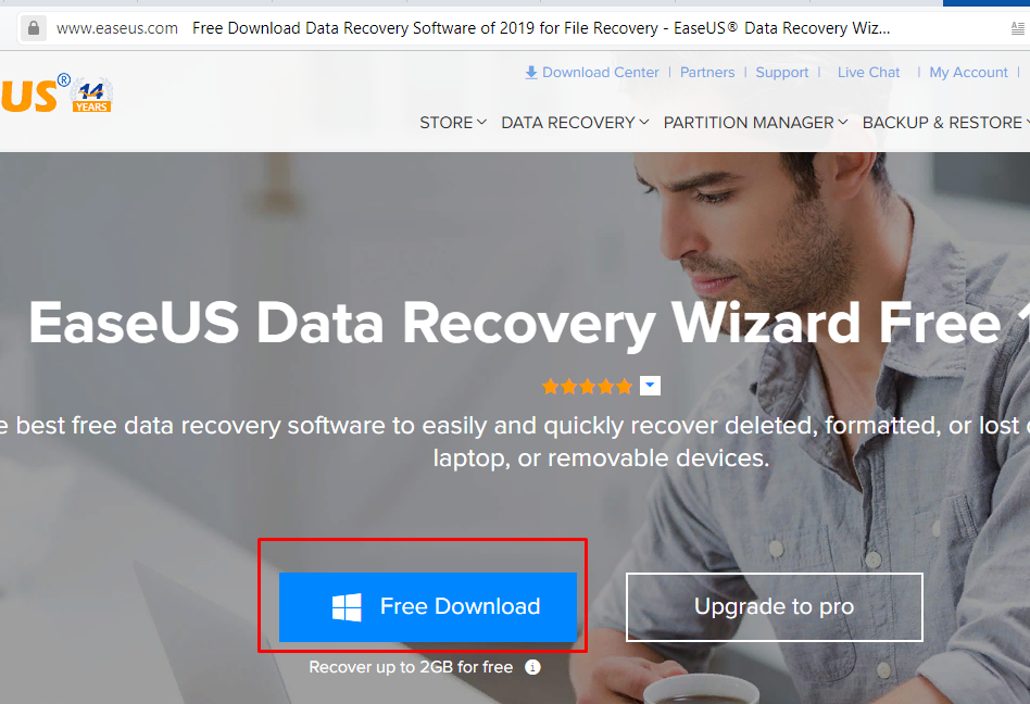 Переходим на сайт разработчика по URL, щелкаем «Free Download»