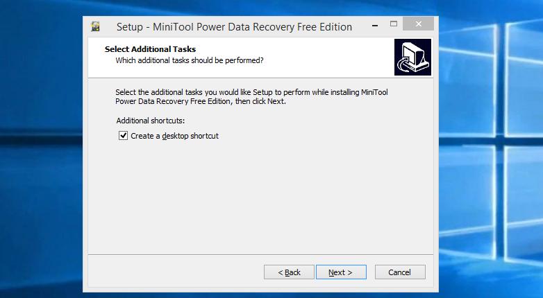 Снимаем галочку с пункта «Greate a desktop shortcut» или оставляем по умолчанию, нажимам «Next»