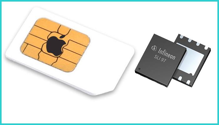Виды SIM-карт, использующихся в iPad Cellular