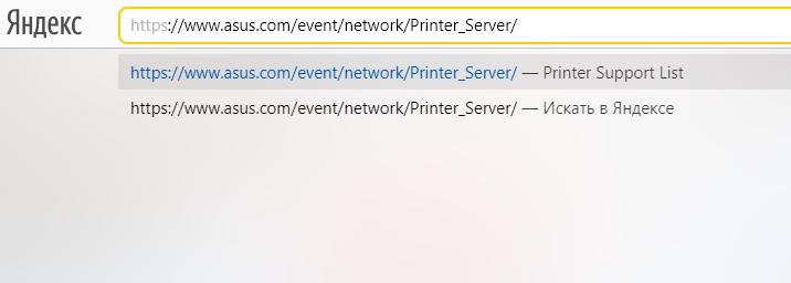 Вставляем адресную ссылку в строку браузера, нажимаем «Enter»