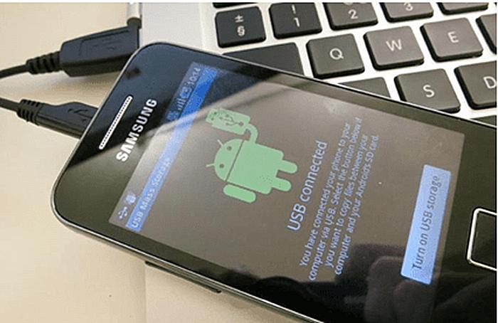 Подключаем своё устройство Android к компьютеру с помощью кабеля micro USB