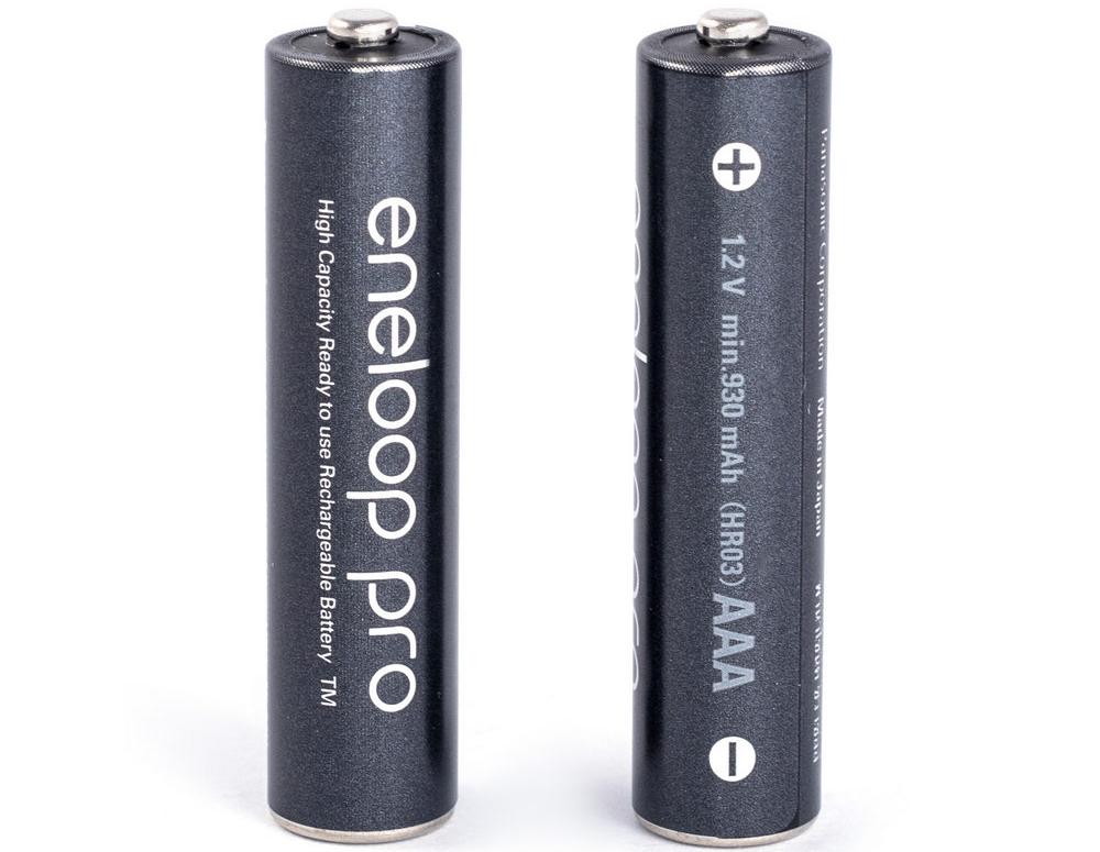 Аккумулятор Ni-Mh 930 мАч Panasonic eneloop pro AAA