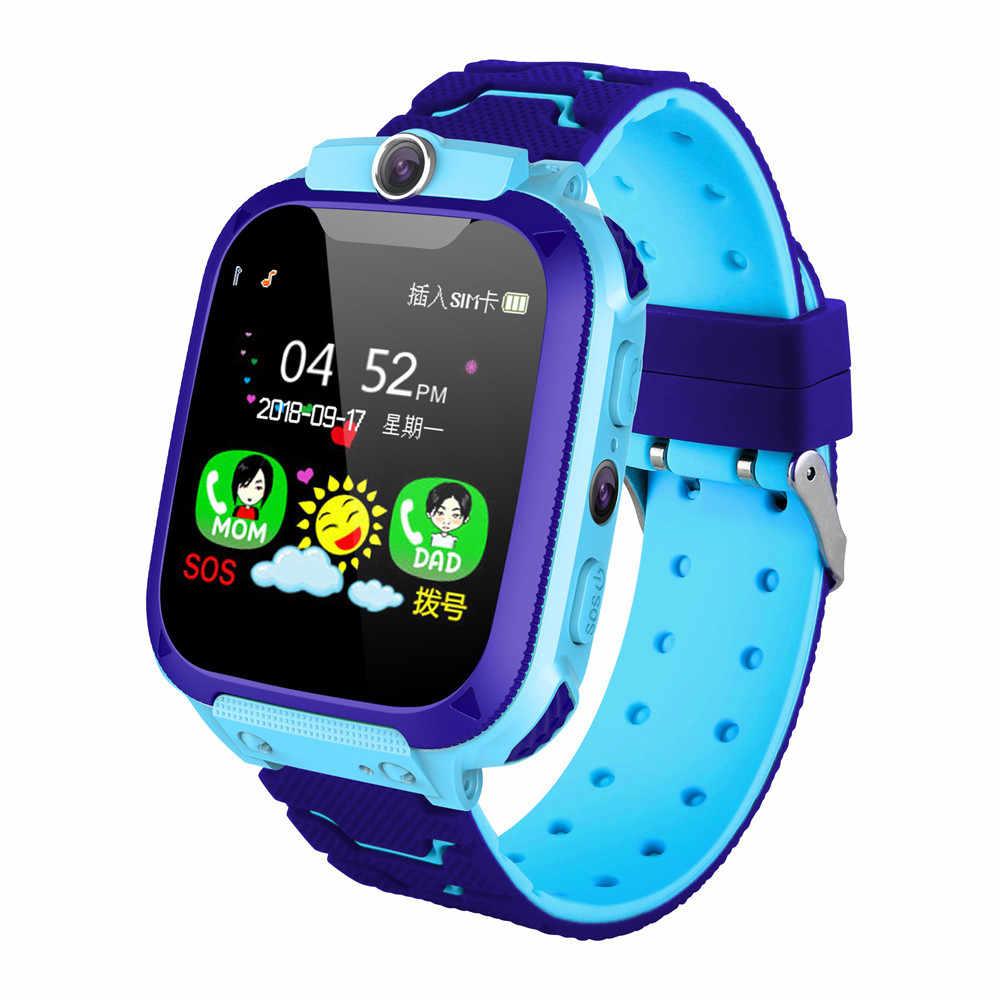Для ребенка лучше всего покупать часы с поддержкой видеочата