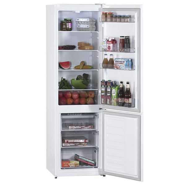 Холодильник BEKO RCSK 310M20 W изнутри