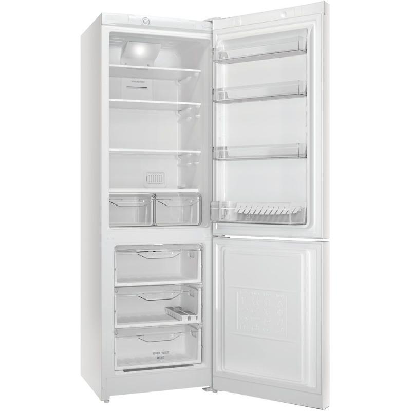Холодильник Indesit DF 5180 W изнутри