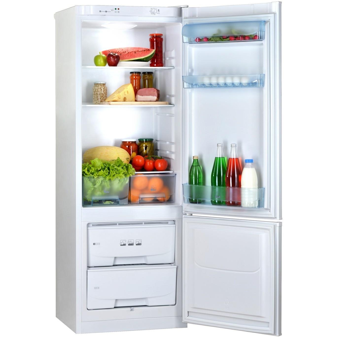 Холодильник Pozis RK-102 W изнутри