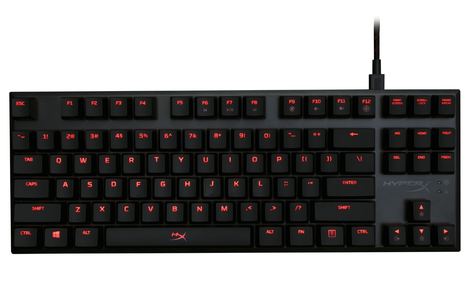 HyperX Alloy FPS Pro (Cherry MX Red) Black USB