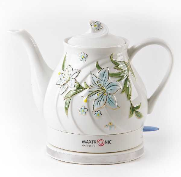 Керамические чайники хорошо сохраняют тепло