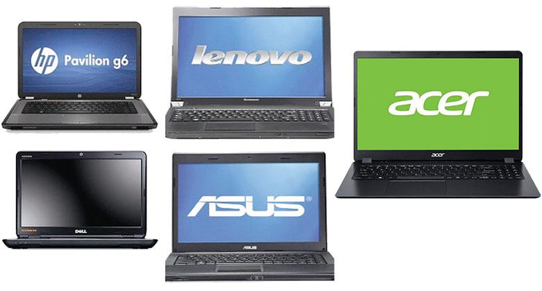 Компании-производители ноутбуков, которые зарекомендовали себя на российском рынке
