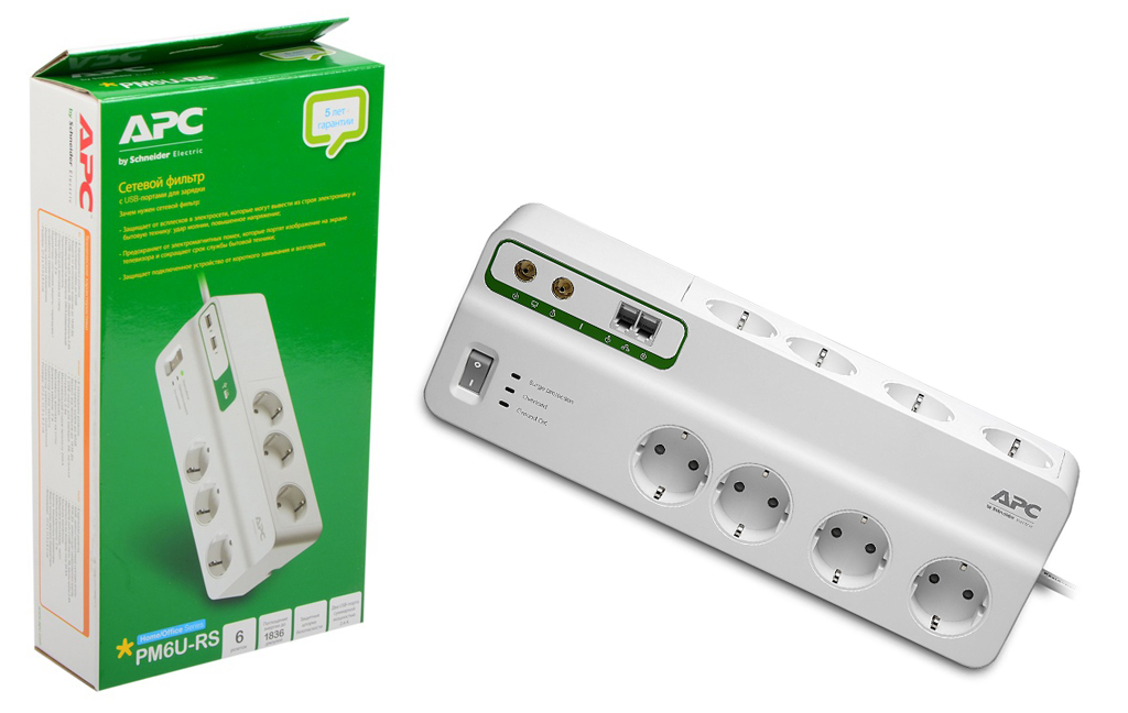 APC by Schneider Electric PM6-RS