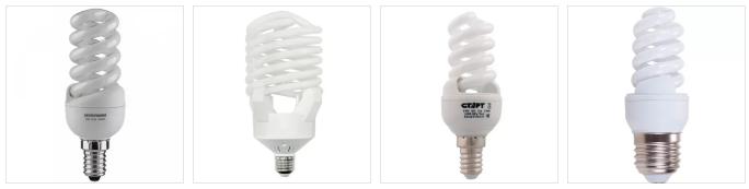 Энергосберегающие лампы обеспечивают теплое освещение, но содержат вредные пары ртути
