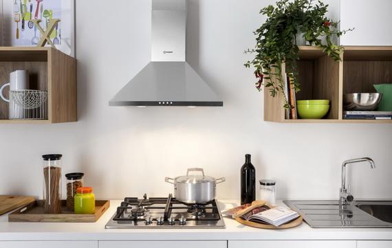 Кухня со встроенной техникой INDESIT
