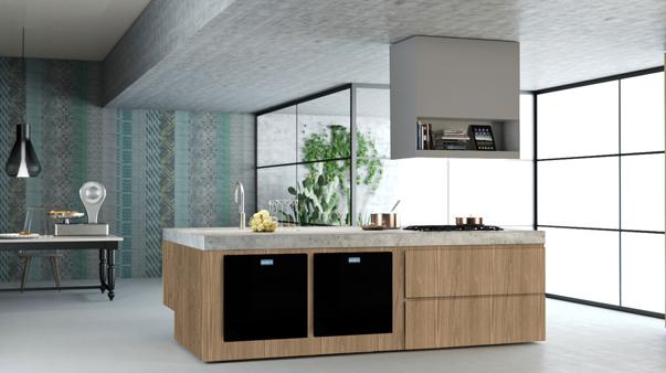 Кухня со встроенной техникой от турецкого производителя Beko