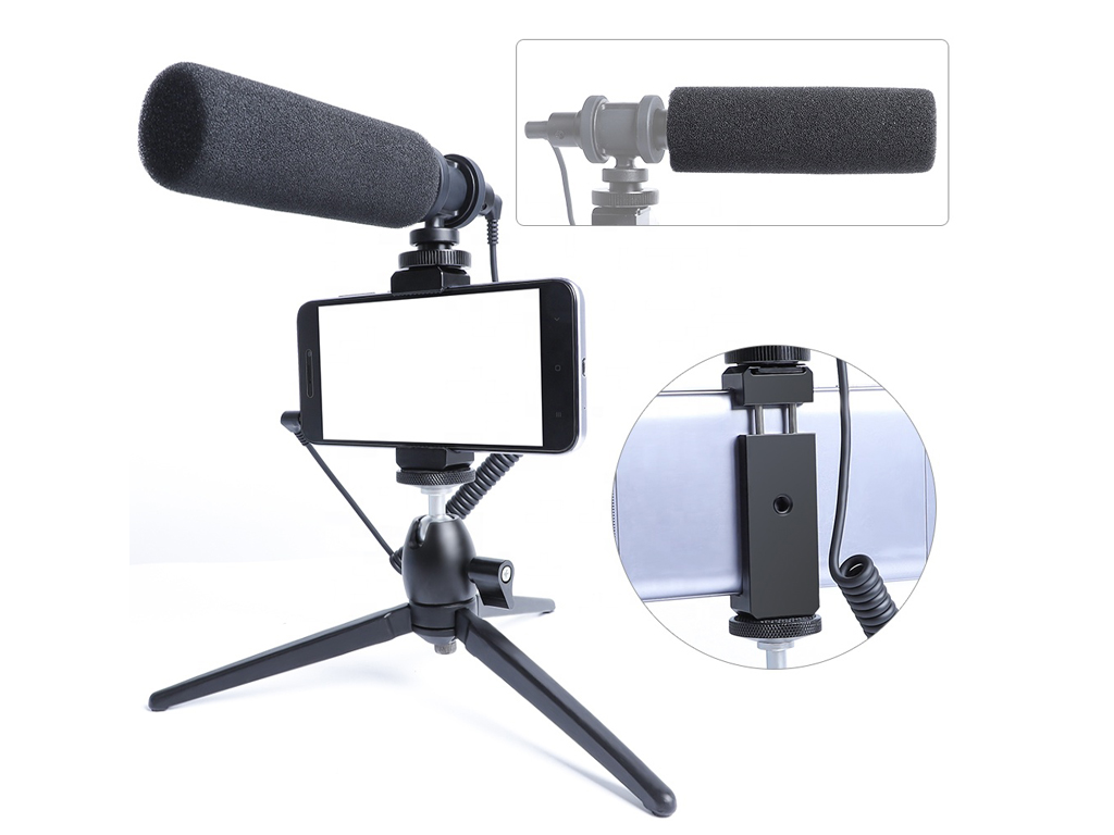Maono Shotgun Camera Vlog Microphone Kit AU-CM10S