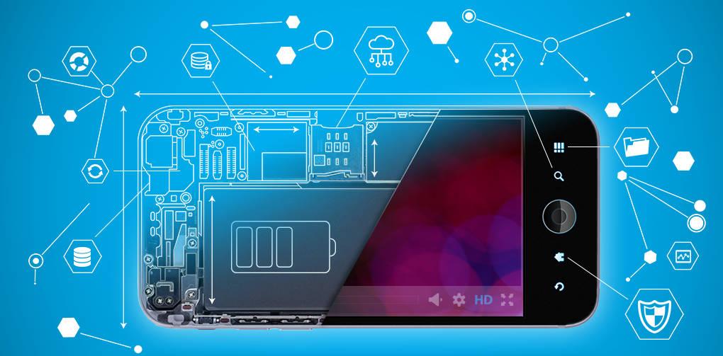 Смартфон с большой оперативной памятью и мощным процессором сможет лучше справится с различными задачами