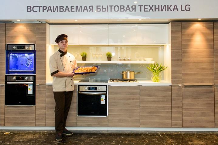 Встраиваемая техника для кухни LG