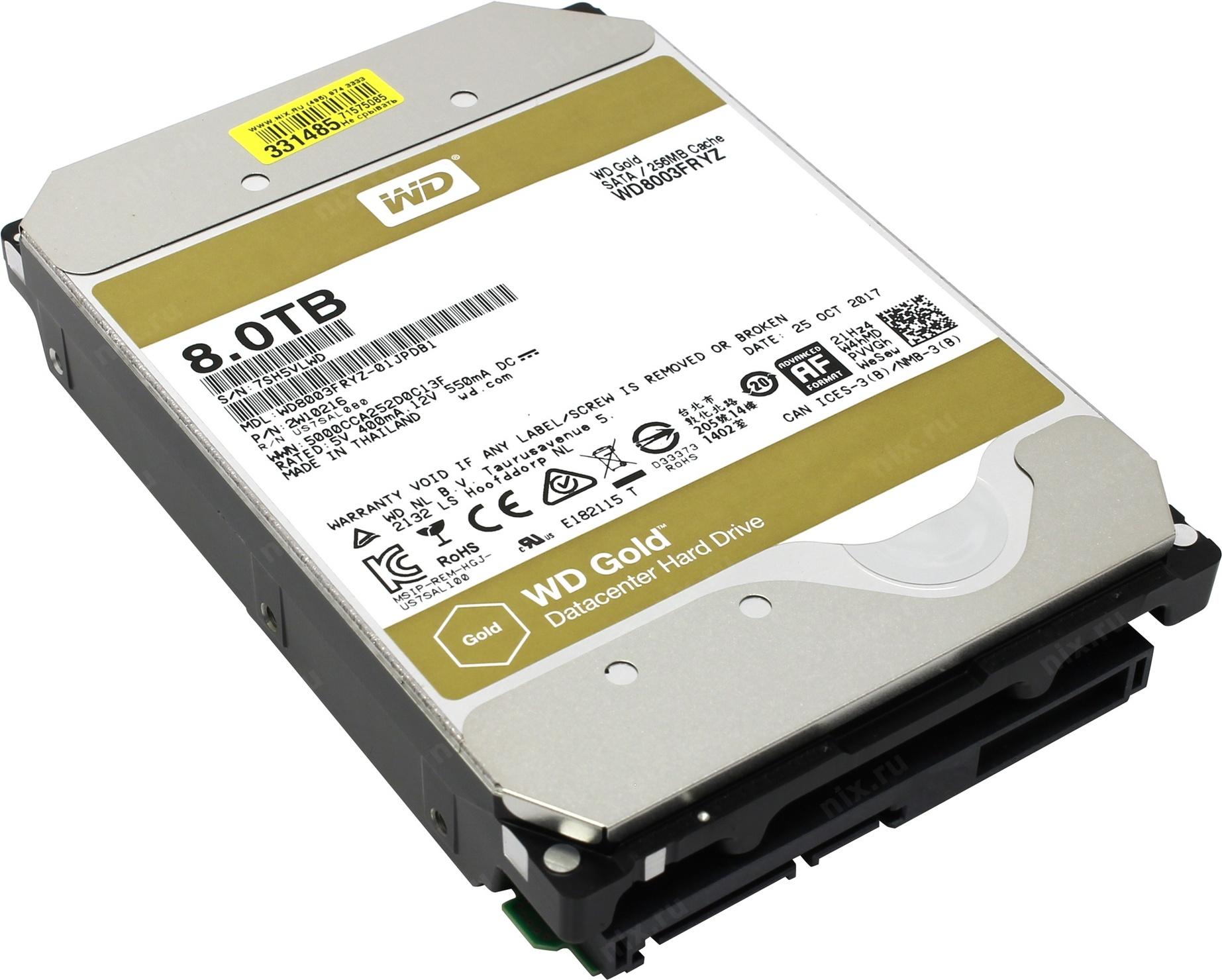 Western Digital WD Gold 8 TB (WD8003FRYZ)