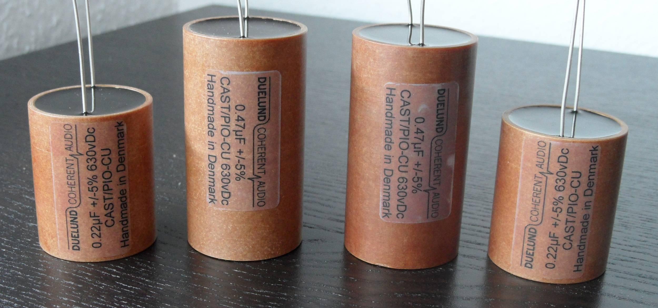 Duelund Capacitor 0.47uF 630Vdc CAST-PIO-Cu (Sn)