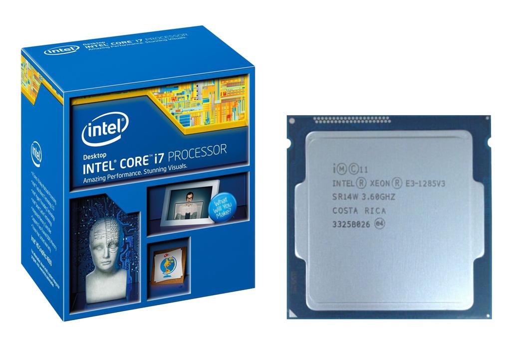 Intel Xeon E3-1285V3 Haswell