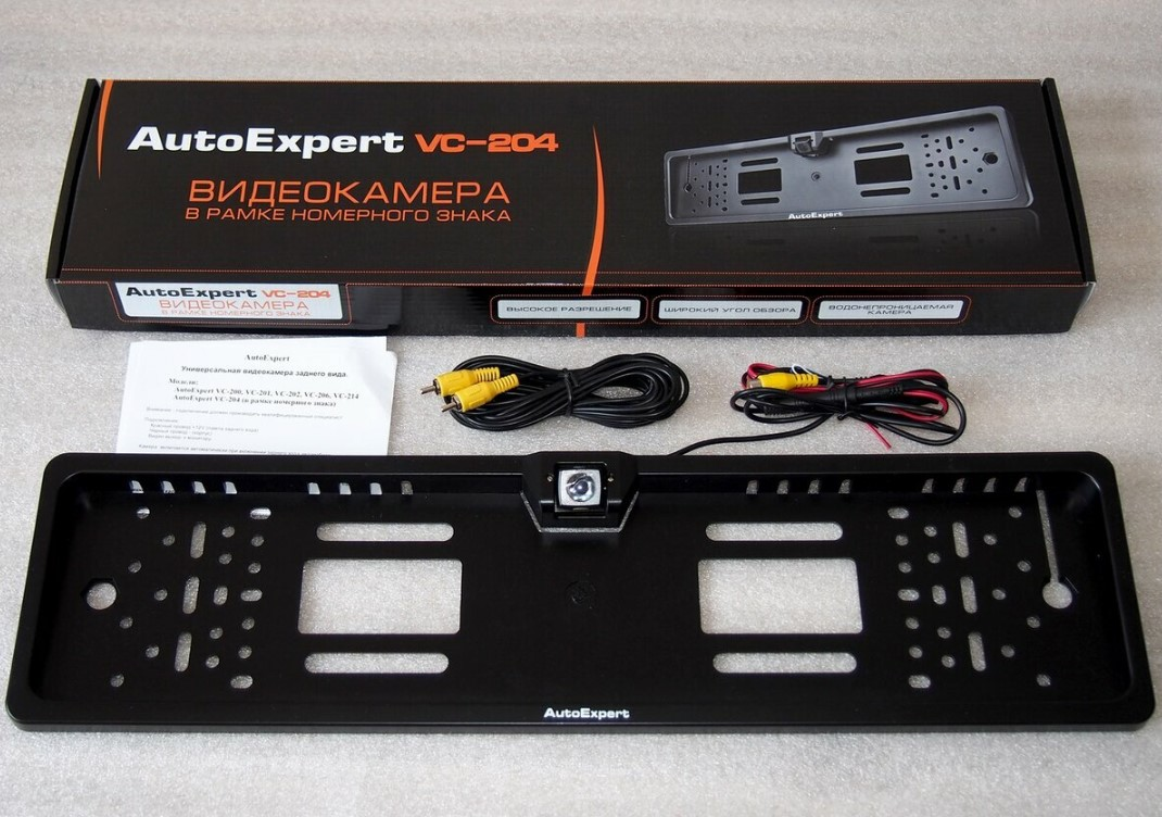 Камера заднего вида AutoExpert VC-204