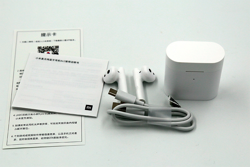 Комплектация Xiaomi Airdots Pro 2