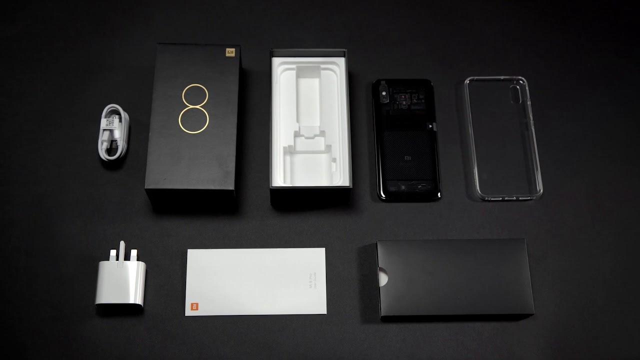Комплектация Xiaomi Mi 8 Pro