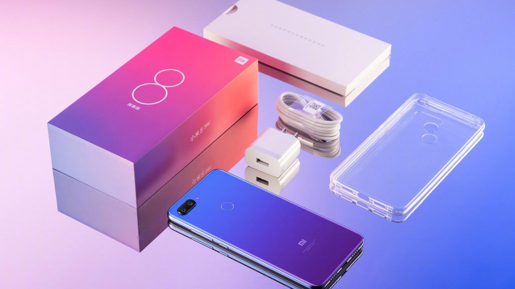 Комплектация Xiaomi Mi 8 lite