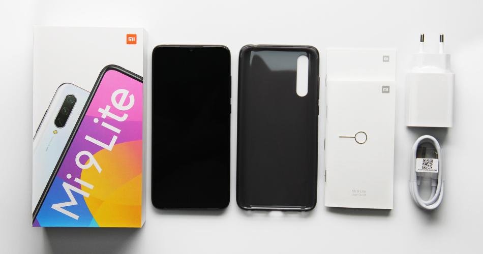 Комплектация Xiaomi Mi 9 lite