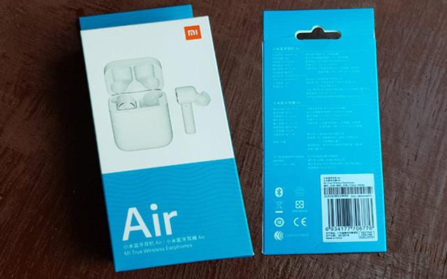 Коробка от беспроводных наушников Xiaomi Airdots Pro