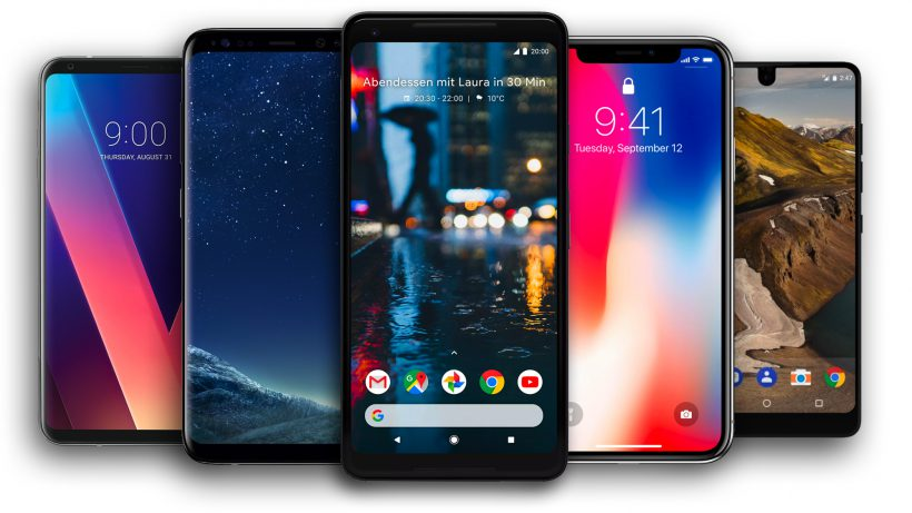 Лучшие смартфоны до 6 дюймов