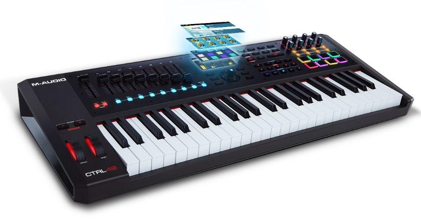 M-Audio CTRL49 USB MIDI Smart Controller