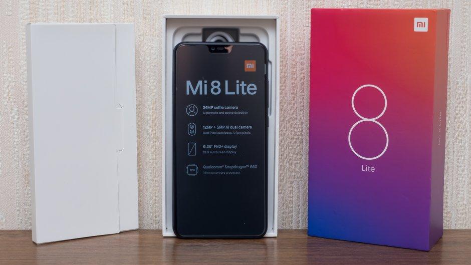 Новый смартфон получил название MI 8 Lite, то есть облегчённая (а по факту - урезанная) версия флагмана