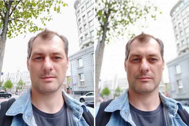 Тыльная камера использует два 12-мегапиксельных датчика изображения Sony IMX363 (размер пикселя 1,4 мкм) и Samsung S5K3M3 (1,0 мкм) и объективы с диафрагмой F1,8 и F2,4