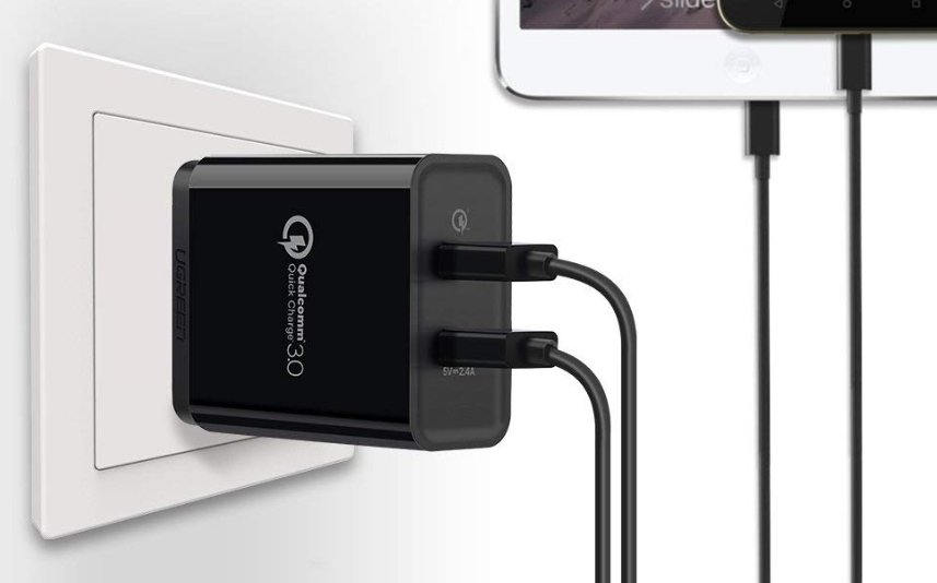 Ugreen Quick Charge 3.0 (2 Ports)