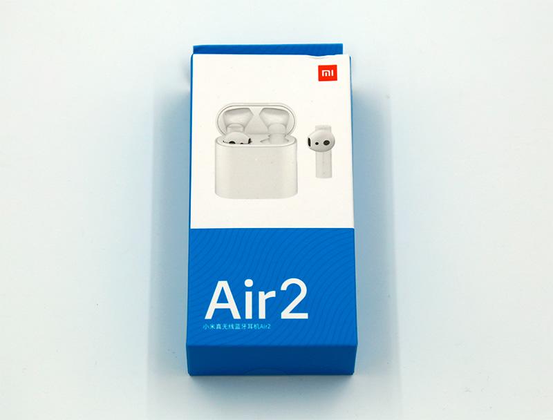 Упаковка с наушниками Xiaomi Airdots Pro 2