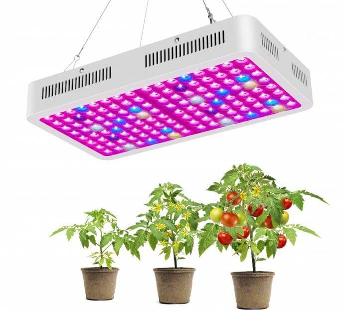 Мультиспектровые лампы обладают наиболее высокой продуктивностью