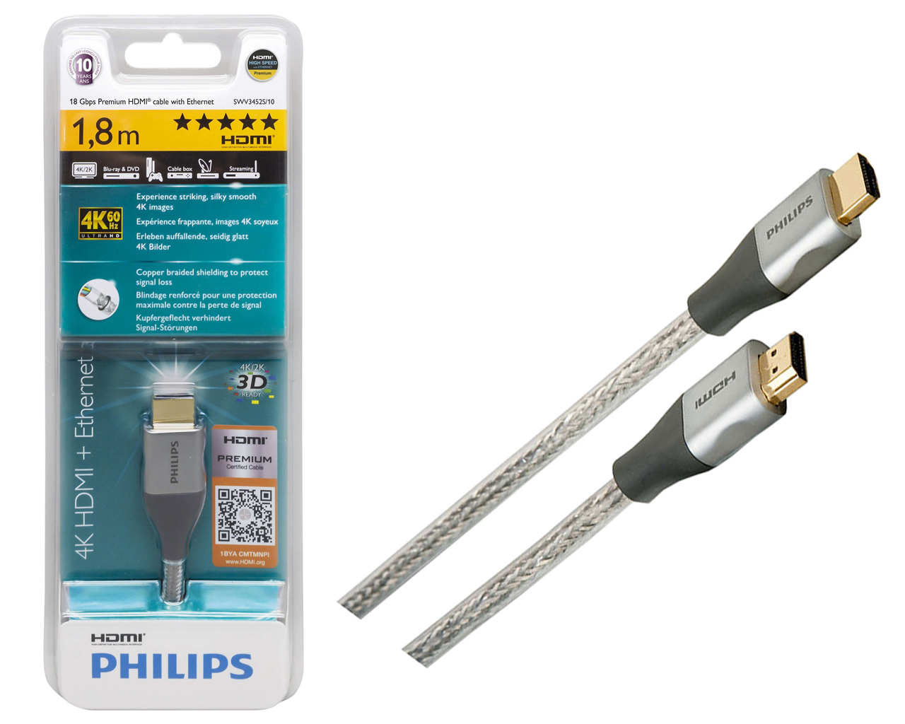 Philips HDMI - HDMI (SWV3452 (3) S/10)