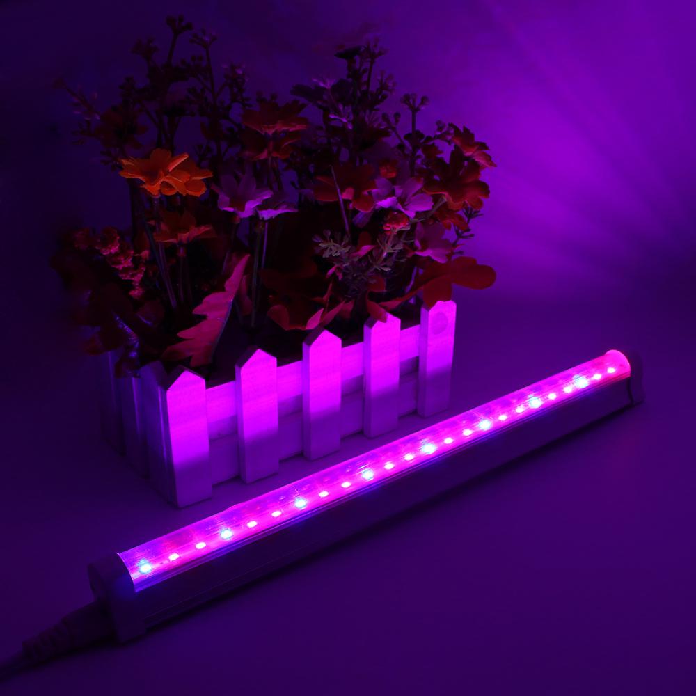 Светодиоды с красными и синими кристаллами создают нужное излучение, для ускорения роста растений