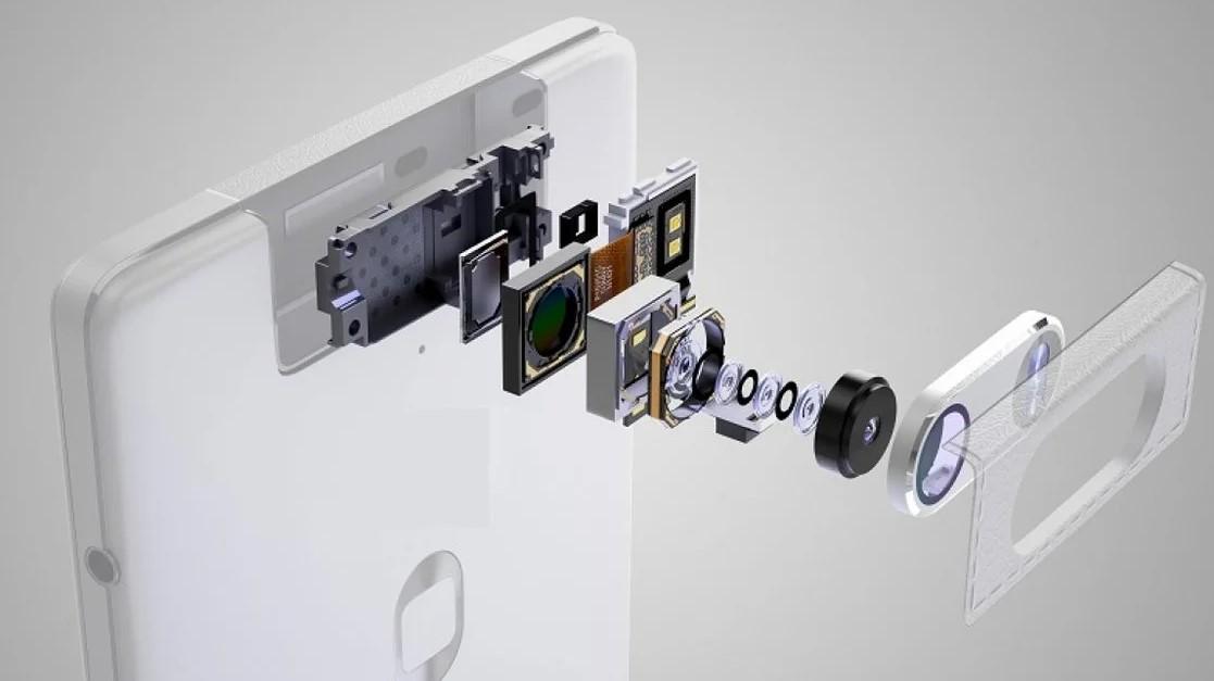 Устройство камеры в смартфоне