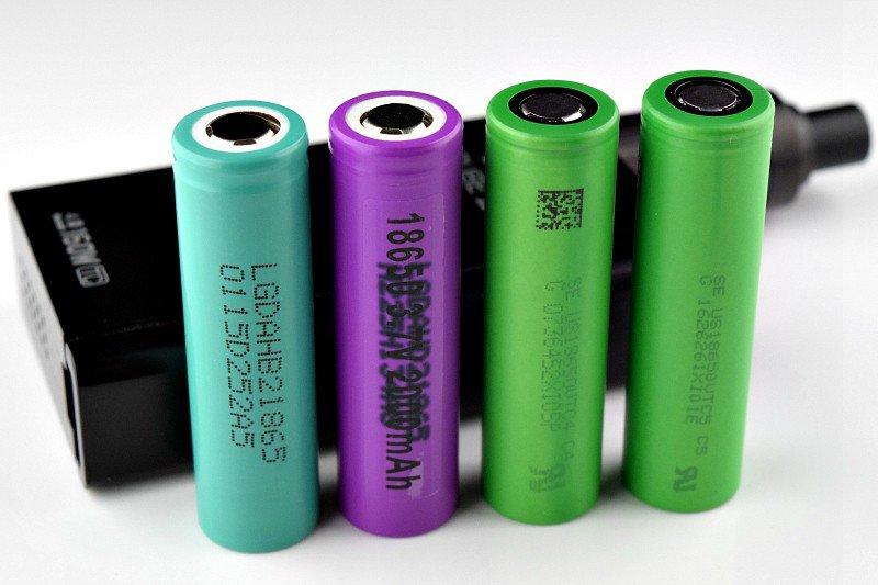 Автоматические аккумуляторы для электронных сигарет