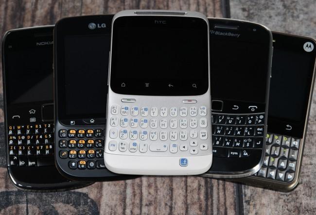 Телефоны с QWERTY клавиатурой