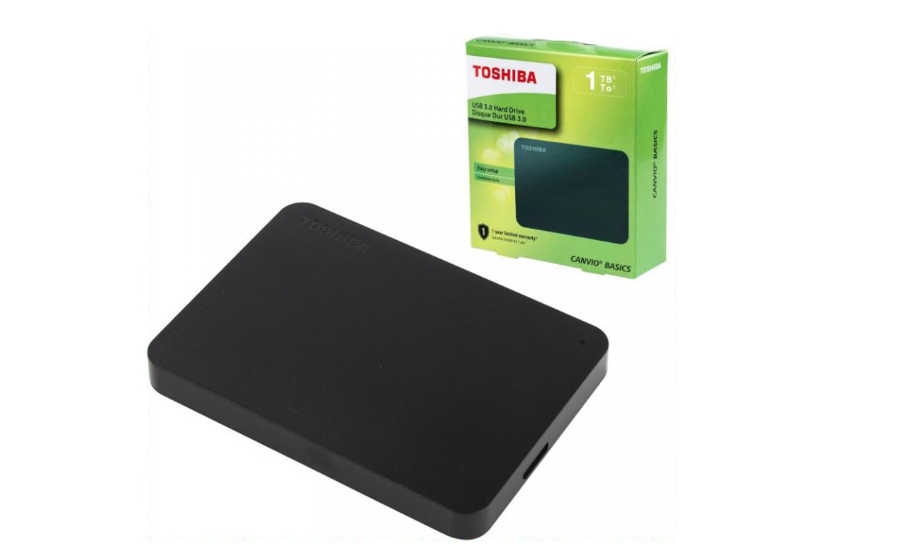 Toshiba Canvio Basics (new) 1 Тб