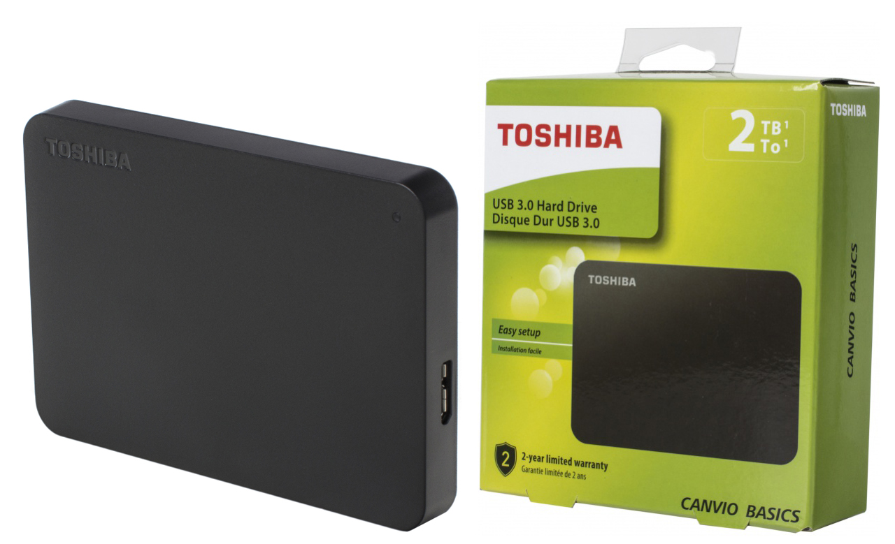 Toshiba Canvio Basics (new) 2 Тб