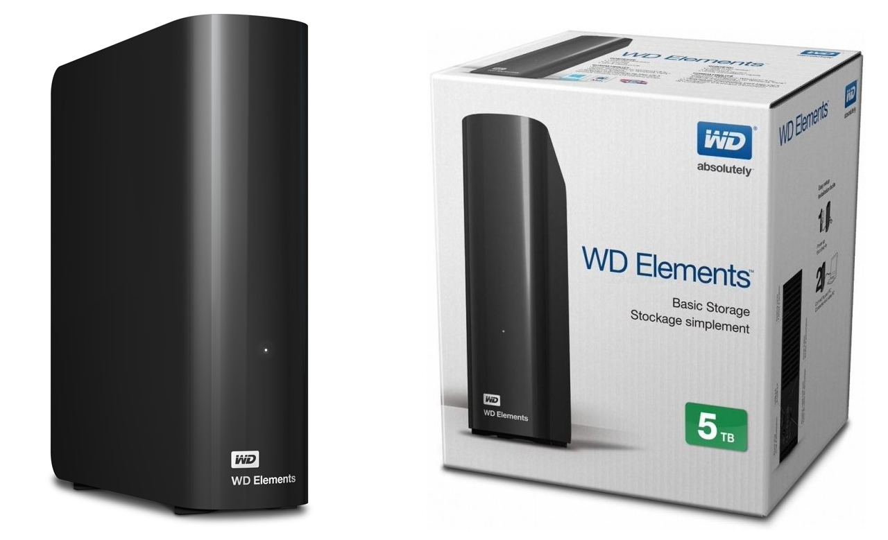 Western Digital WD Elements Desktop 4 ТБ