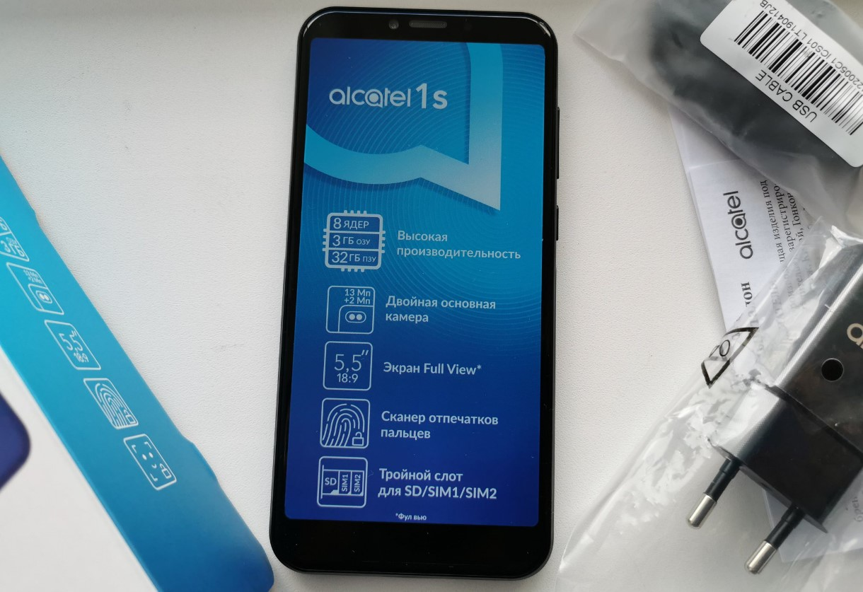 Alcatel OneTouch 1S