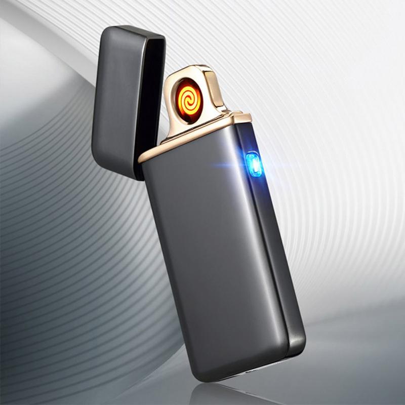 Спиральная USB зажигалка